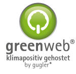 greenweb klimapositit gehostet by gugler*
