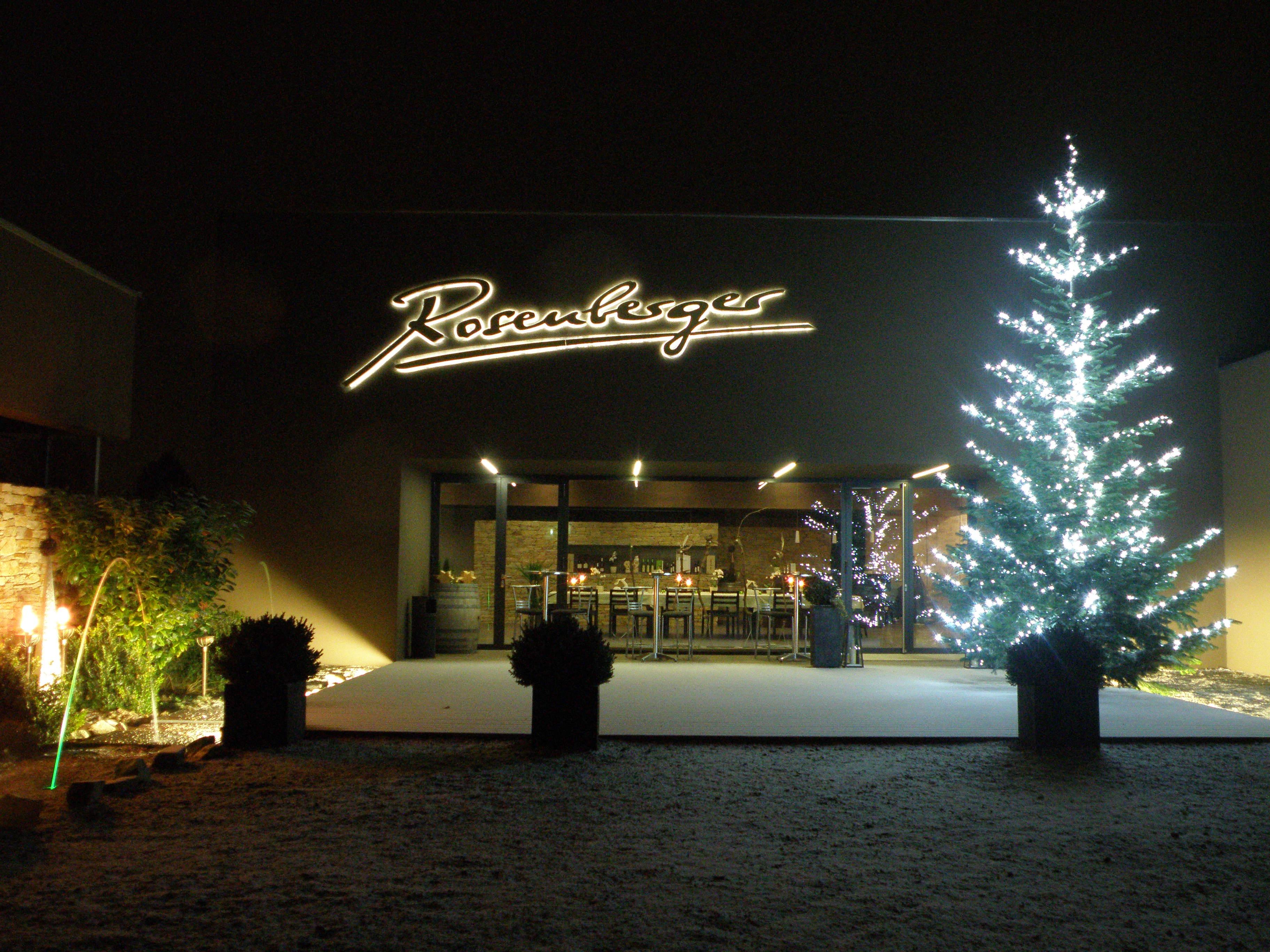 Weingut Rosenberger Weihnachten