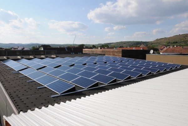 Photovoltaik Weingut Rosenberger