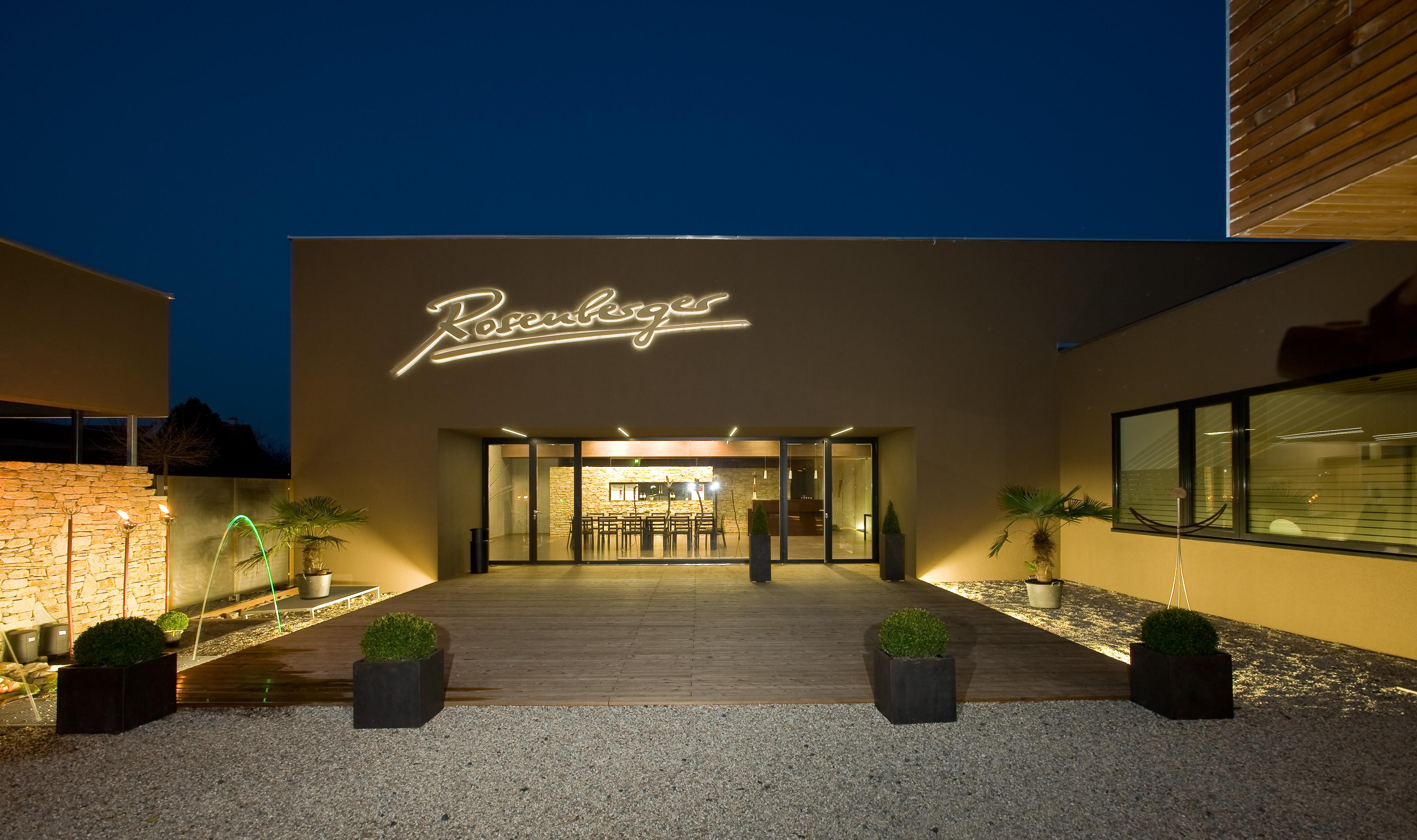 Weingut Rosenberger Verkostungsrraum
