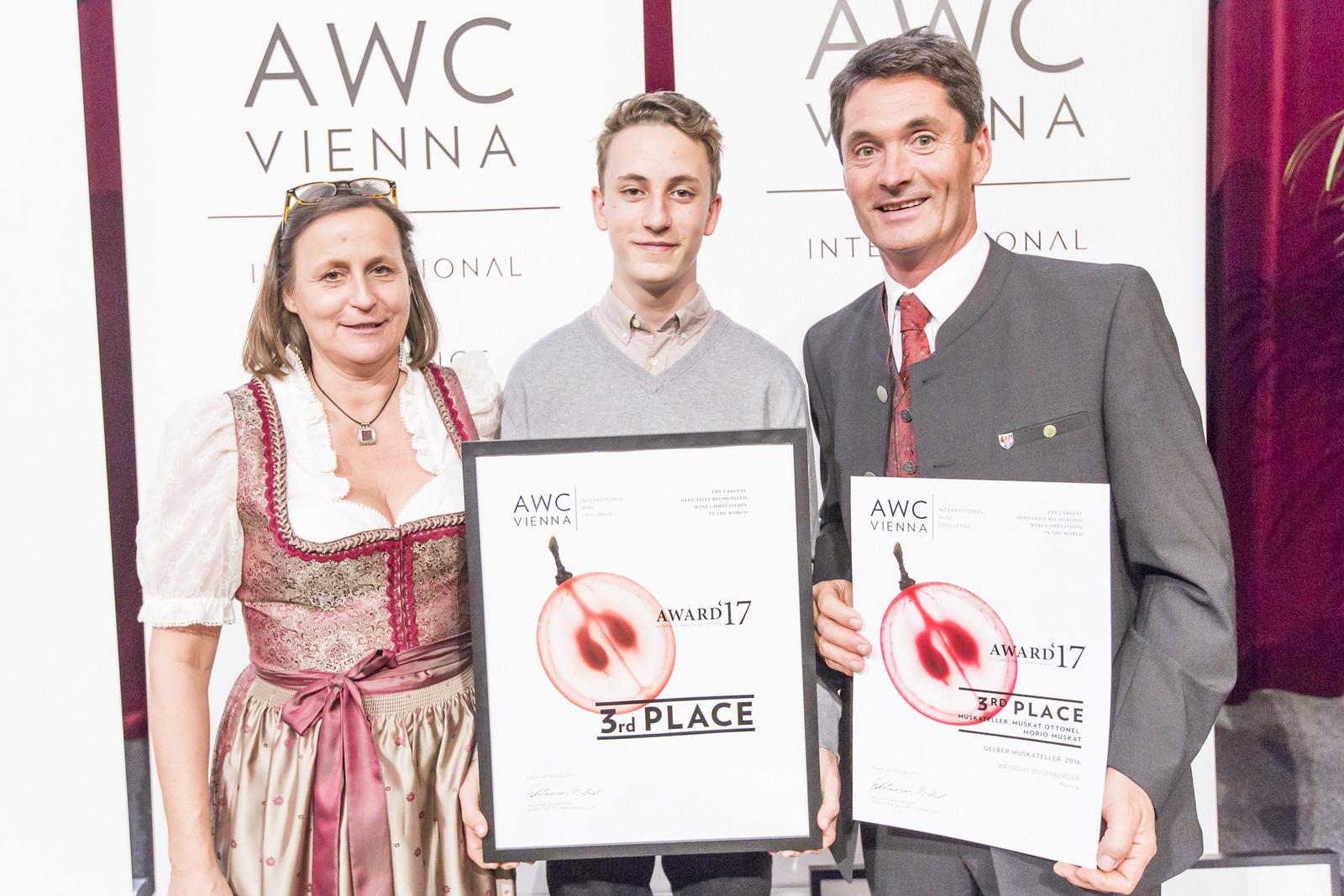 Preisverleihung Gelber Muskateller 2016
