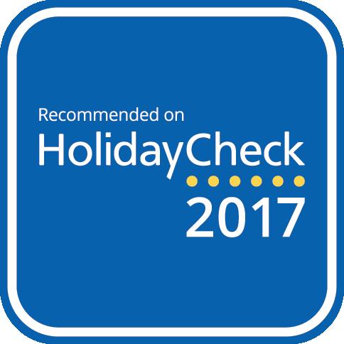 HolidayCheck Auszeichnung 2017 und 2018