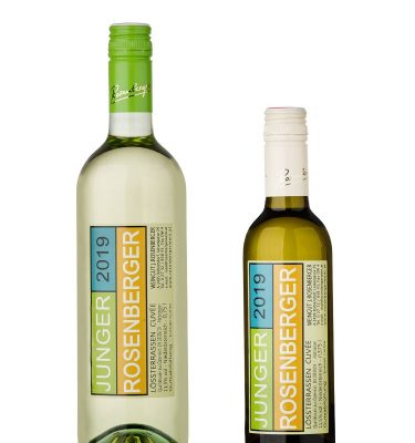 Junger Rosenberger Kleinflasche