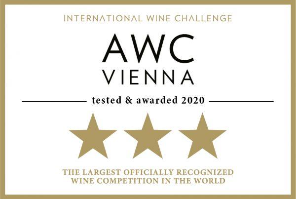 AWC Vienna Auszeichnung zum 3-Sterne Weingut