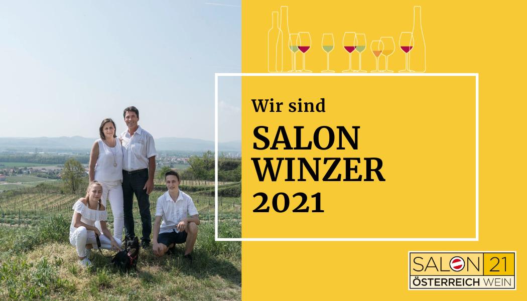 Wir sind SALON-Winzer 2021 !